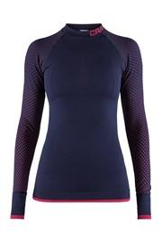 Ženska majica CRAFT Warm Intensity modro-roza