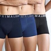 3 kosi moških boksaric Primal B203
