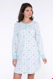 Ženska spalna srajca Arctic modra