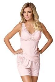 Ženska pižama Bona, roza