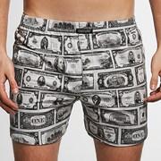 Moške široke boksarice CORNETTE Classic Dollars