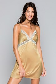 Razkošna spalna srajčka Savannah zlata