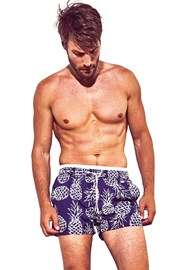 Moške kratke hlače za kopanje DAVID 52 Pineapple Atlantis
