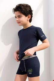 Komplet fantovskih boksaric in majice EnricoCoveri 4071