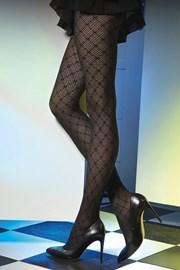 Vzorčaste hlačne nogavice Est Belle 01 50 DEN