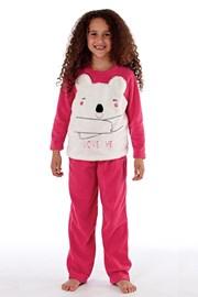 Topla dekliška pižama Bear