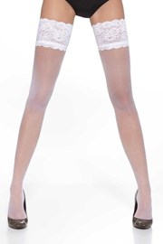 Samostoječe nogavice Kama 20 DEN
