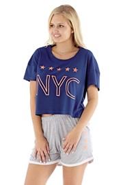Ženska pižama NYC navy