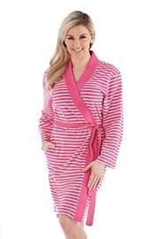 Ženski kopalni plašč Kimono, roza