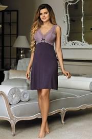 Elegantna spalna srajčka Larisa Plum