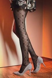 Vzorčaste hlačne nogavice Royale 02 40 DEN