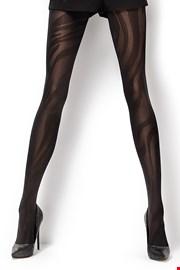 Vzorčaste hlačne nogavice Sofia 50 DEN