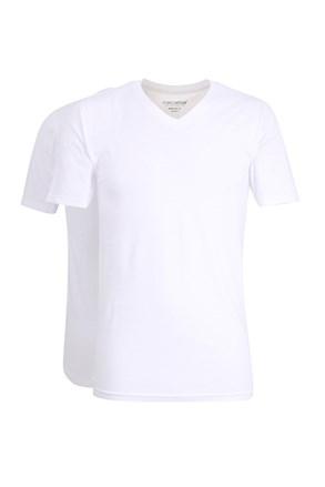 2 kosa moških majic Slim White