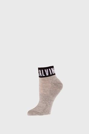 Ženske nogavice Calvin Klein Kayla sive
