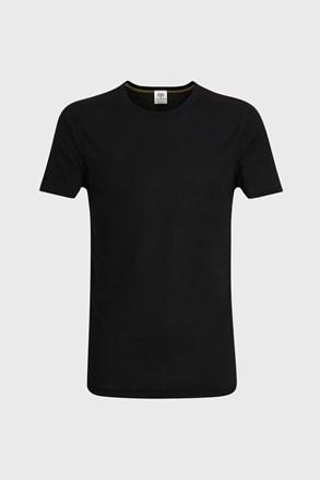 Moška majica s kratkimi rokavi, črna