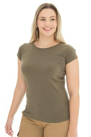 Ženska olivna majica Bushman Natalie II
