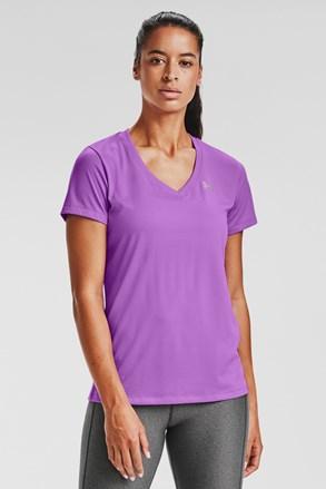 Vijolična športna majica Under Armour Solid