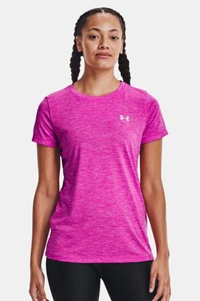Roza športna majica Under Armour Twist
