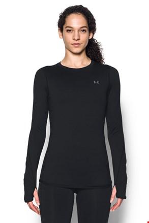 Črna športna majica Under Armour Crew