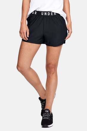 Črne športne kratke hlače Under Armour Play Up