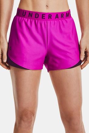 Roza športne kratke hlače Under Armour Play Up