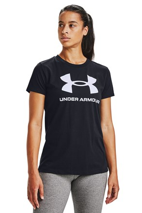 Črna majica Under Armour Live