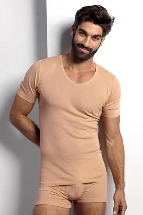 Kožna majica s podloženimi pazduhami, za nošenje pod srajco