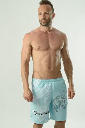 Moške kopalne kratke hlače GERONIMO Cyprinus, turkizne