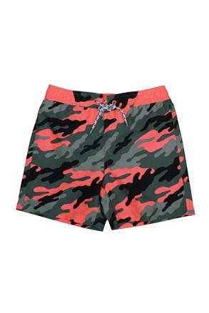 Fantovske kopalne kratke hlače Army
