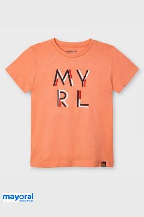 Otroška majica Mayoral Apricot