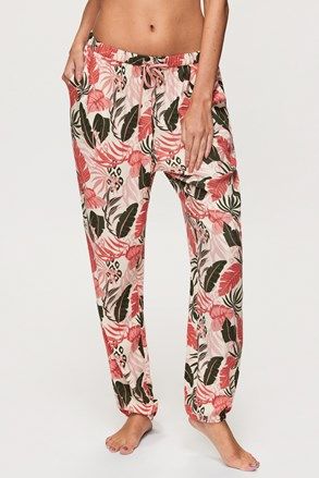 Pižama hlače Hunkemöller Tropical Leaf