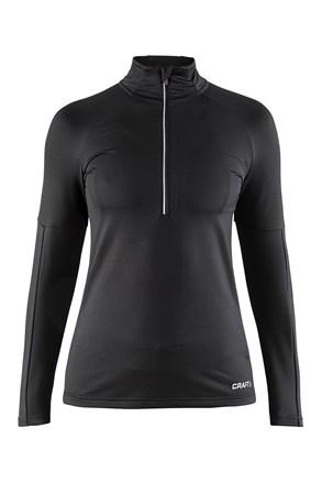 Ženski funkcionalen športen polpuli CRAFT Prep Black