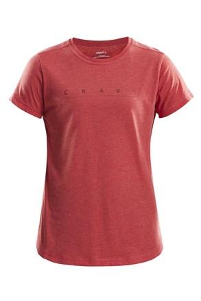 Ženska majica CRAFT Deft, rdeča