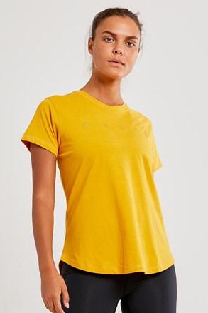 Ženska majica CRAFT Deft, rumena