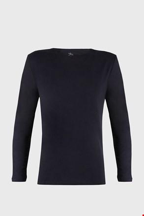 Moška majica z dolgimi rokavi Cotton Nature, modra