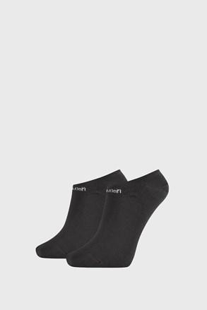 2 PACK črne ženske nogavice Calvin Klein Leanne