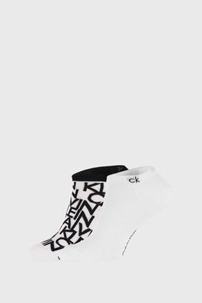 2 PACK bele nogavice Calvin Klein Deangelo