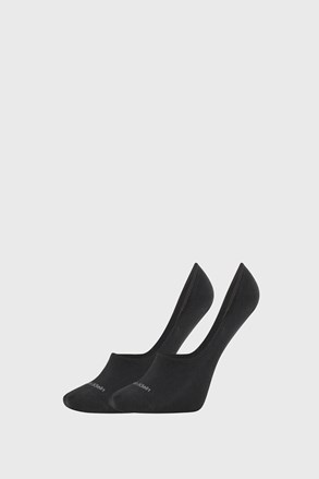 2 PACK črne ženske nogavice Calvin Klein Jessica