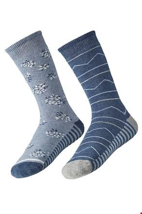 2 para toplih ženskih nogavic Mia