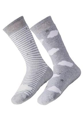 2 para ženskih toplih nogavic Cloud