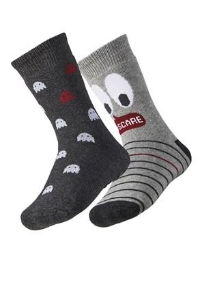 2 para toplih otroških nogavic Scare