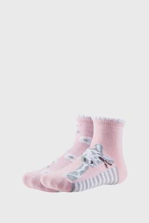 2 PACK dekliške nogavice Floral