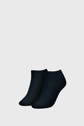 2 PACK ženske nogavice Tommy Hilfiger Sneaker Midnight Blue