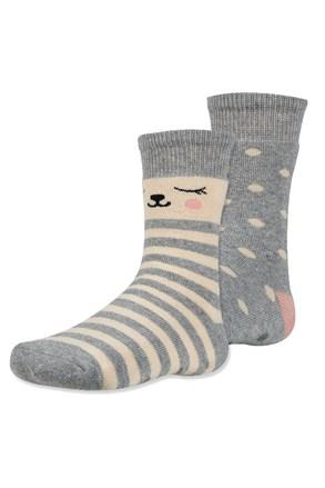 2 para toplih otroških nogavic Dani