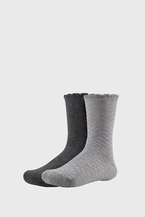 2 PACK tople dekliške nogavice Lovely