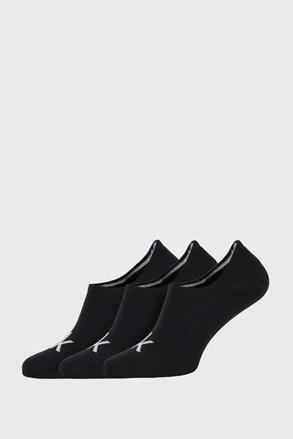 3 PACK črne nogavice Calvin Klein Albert