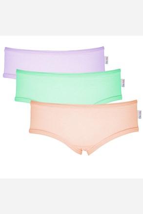 3 Pack dekliških hlačk Colour