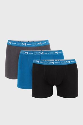 3 kosi moških boksaric DIM Cotton Stretch