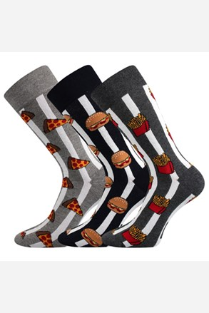 Trojno pakiranje moških nogavic Defood