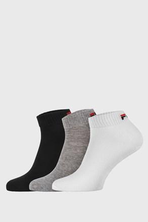 Trojno pakiranje treh barv nizkih nogavic FILA